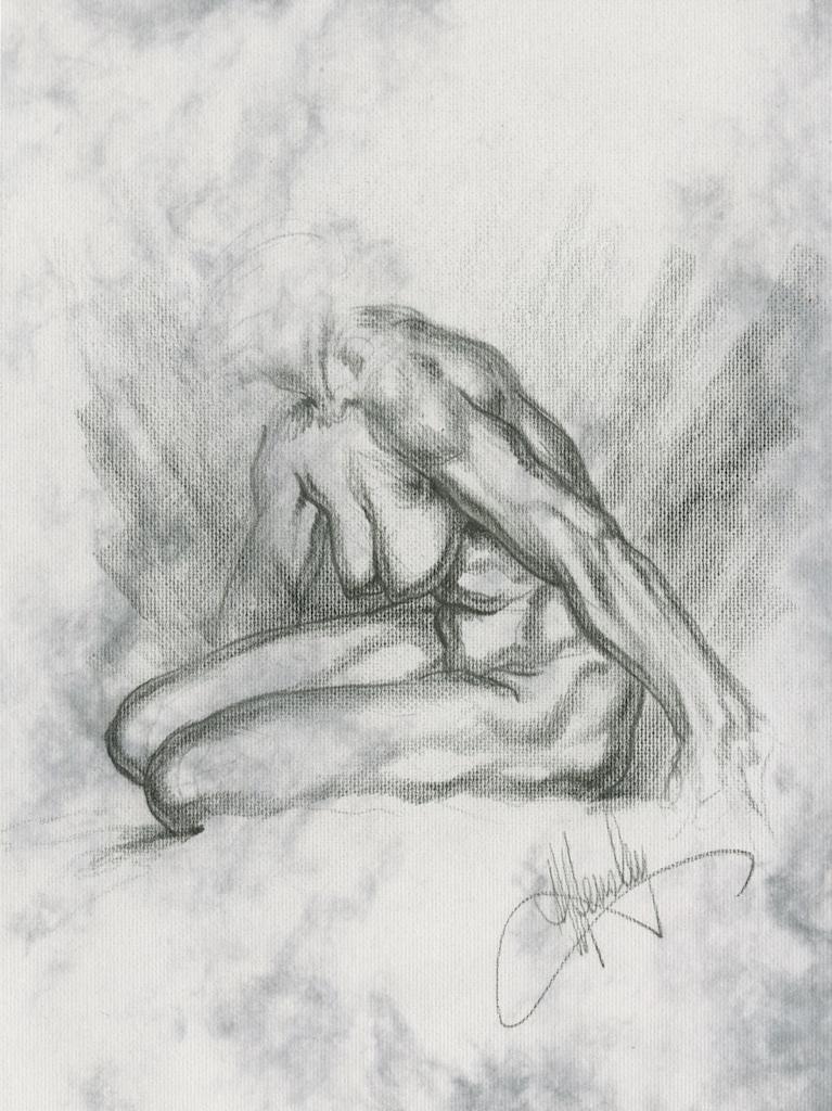 Michael Hensley, Artistic Anatomy, Life Drawing The Female Figure